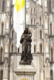 Statue of Blessed Virgin Mary Royalty Free Stock Photos