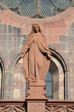 Gothic Cathedral of Freiburg, Southern Germany Stock Photos