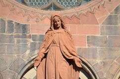 Gothic Cathedral of Freiburg, Southern Germany Stock Image