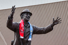 Statue of Bob Stokoe Royalty Free Stock Photography