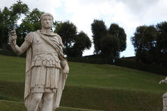 Statue in Boboli Gardens - Florence, Tuscany, Italy.  stock photography
