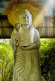 Statue of Bodhisattva Kuan Stock Images