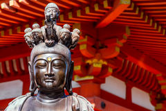 Statue of Bodhisattva. In Kyoto, Japan Stock Photography