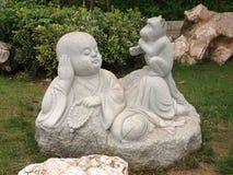 Statue bouddhiste images libres de droits