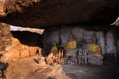 Statue bouddhiste antique Images stock