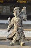 Statue bouddhiste chinoise de prêtre Photographie stock