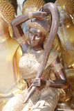 Statue bouddhiste d'ange, Bangkok, Thaïlande. Photos libres de droits
