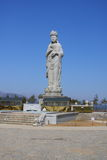 Statue bouddhiste de Haesugwaneumsang Image libre de droits