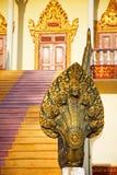 Statue bouddhiste de serpent photographie stock