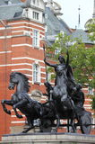 Statue of Boudicca Stock Photos
