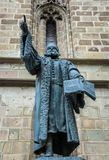 Statue in Brasov Stock Photos