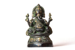 Statue of bronze of Lord Ganesh Royalty Free Stock Photo