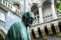 Statue at Budapest City Park Stock Photos