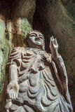 Statue of Budda in Marble Mountains, Vietnam Royalty Free Stock Photography