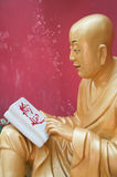 Statue of Buddah. By the monastery of the thousand buddhas in Hong Kong royalty free stock images
