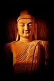 Statue of Buddha. Under evening light Stock Images