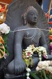 Statue of Buddha. In Mahawan Temple (Wat Ma Ha Wan) in Lamphun, Thailand Royalty Free Stock Image