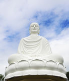 Statue of the Buddha against the blue sky Stock Photography