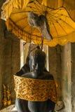 Statue Buddha Bayon temple, Angkor, Cambodia Royalty Free Stock Photo