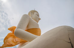 Statue of Buddha,of Big Buddha over blue sky Royalty Free Stock Images