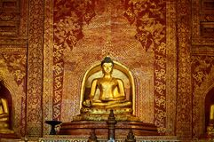 Statue of Buddha in Chiang Mai royalty free stock image