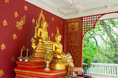 Statue of Buddha in Chiang Mai Thailand Royalty Free Stock Photos