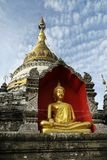 Statue of buddha. In Chiang mai, thailand Stock Photos