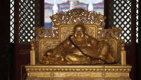 The statue of a buddha Royalty Free Stock Photography