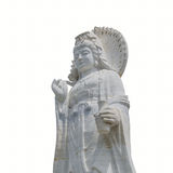 The statue of buddha, goddess of mercy Royalty Free Stock Photos
