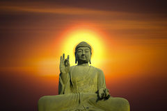 Statue of Buddha. Royalty Free Stock Photography