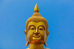 A statue of Buddha Head Stock Photography
