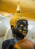 Statue buddha image at Doikham Temple,chiangmai Thailand. Royalty Free Stock Photo