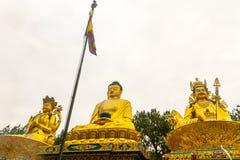 Statue of Buddha in  Kathmandu,Nepal Royalty Free Stock Photo