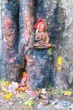 Statue of Buddha in  Kathmandu,Nepal Royalty Free Stock Photography
