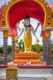 Statue of Buddha on Koh Samui Royalty Free Stock Image