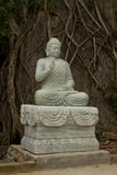 Statue of Buddha, Marble Mountains Royalty Free Stock Images