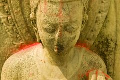 Statue of Buddha in Nepal Royalty Free Stock Photos