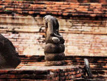 Statue buddha no head Royalty Free Stock Image