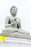 Statue of Buddha at peace in asia Royalty Free Stock Photos