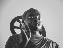 Statue of Buddha at peace Royalty Free Stock Image