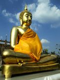 Statue of the Buddha royalty free stock photos