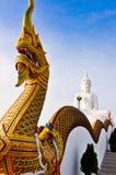 Statue of Buddha in Saraburi Thailand. Stock Image