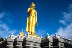 Statue of Buddha in sky background Giant Buddha Statue stock image