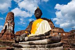 Statue of buddha, thailand Royalty Free Stock Photography