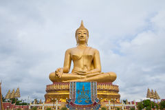 Statue of Buddha in Thailand. The big Statue of Buddha in Thailand Royalty Free Stock Images