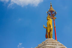 Statue of Buddha in Thailand Royalty Free Stock Image