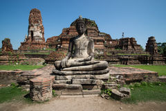 Statue of Buddha. At Wat Mahatat Royalty Free Stock Image