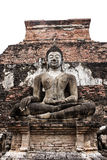 Statue of Buddha at Wat Mahathat Royalty Free Stock Photos