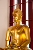 Statue of Buddha in Wat Phra Si Mahathat Royalty Free Stock Photos