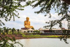 Statue of buddhist monk Royalty Free Stock Photos